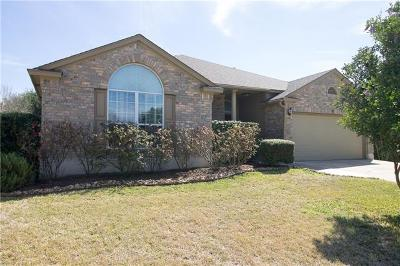 Round Rock Single Family Home For Sale: 3365 Rod Carew Dr