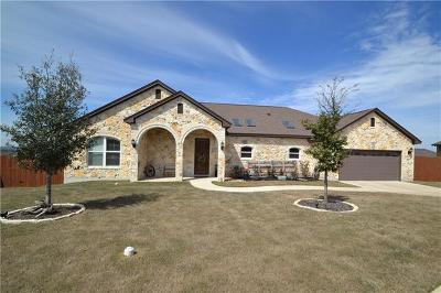 Jarrell Single Family Home For Sale: 117 Katie Hill Path