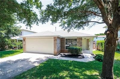 Round Rock Single Family Home For Sale: 1819 Wallin Loop