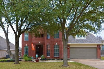 Round Rock Single Family Home For Sale: 1875 Paradise Ridge Dr