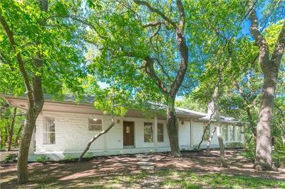 Travis County Single Family Home Pending - Taking Backups: 445 Rocky River Rd
