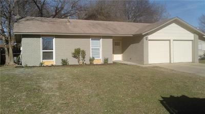 Hays County, Travis County, Williamson County Single Family Home Pending - Taking Backups: 2320 Deadwood Dr