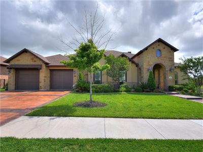 Round Rock Single Family Home For Sale: 4501 Sansone Dr