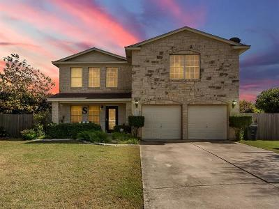 Hutto Single Family Home For Sale: 103 Erin Cv