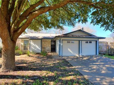 Hays County, Travis County, Williamson County Single Family Home Pending - Taking Backups: 7316 Lake Charles Dr