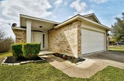 Pflugerville Single Family Home Pending - Taking Backups: 15209 Mandarin Xing