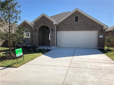 Georgetown Single Family Home For Sale: 3012 Rabbit Creek Dr