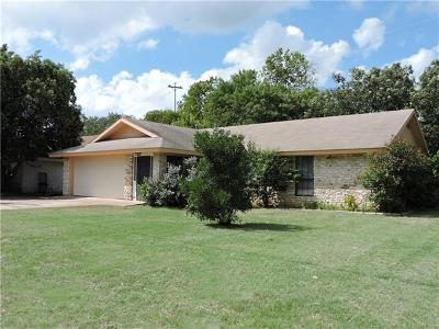 Georgetown Single Family Home Pending - Taking Backups: 207 Golden Oaks Dr