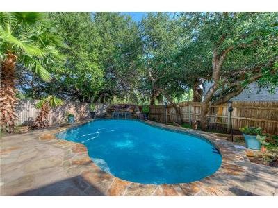 Round Rock Single Family Home For Sale: 3944 Lord Byron Cir