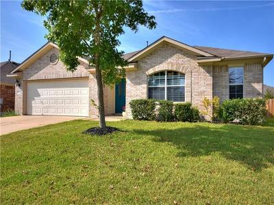 Pflugerville Single Family Home For Sale: 18412 Dry Brook Loop