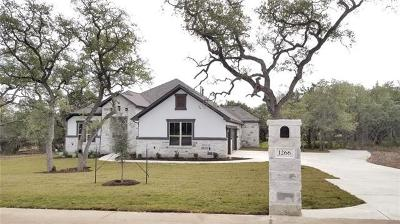 Dripping Springs Single Family Home For Sale: 1266 Blue Ridge Dr