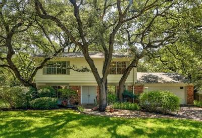 Austin Single Family Home Pending - Taking Backups: 8705 Oakmountain Cir