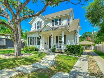 Austin Single Family Home For Sale: 3101 Funston St