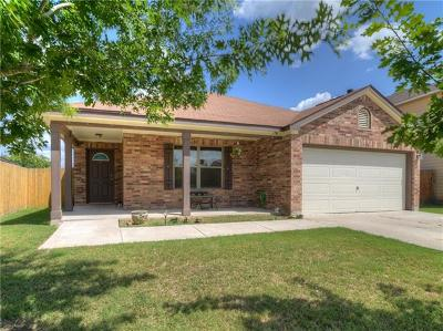 Del Valle Single Family Home For Sale: 13428 Lipton Loop