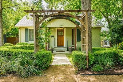 Austin Single Family Home Pending - Taking Backups: 4605 Avenue D