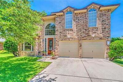 Leander Single Family Home For Sale: 801 Mountain Ridge Dr