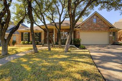 Round Rock Single Family Home For Sale: 2448 Arbor Dr