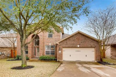 Round Rock Single Family Home For Sale: 4535 Wandering Vine Trl