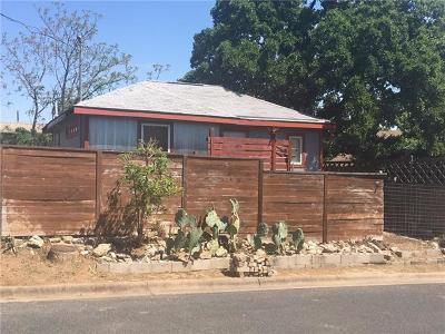 Austin Single Family Home Active Contingent: 1187 Coleto St