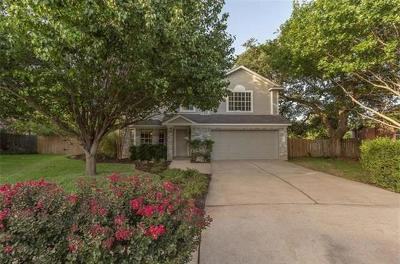 Round Rock Rental For Rent: 16803 Bailey Jean Dr