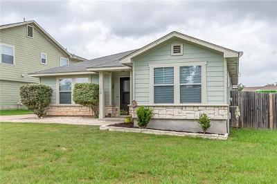 Manor Single Family Home Pending - Taking Backups: 11308 Briarcreek Loop