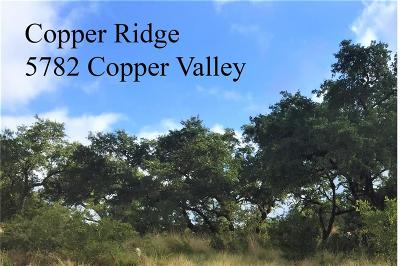 New Braunfels Residential Lots & Land For Sale: 5782 Copper Vly