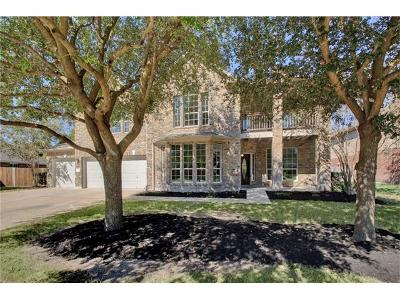 Pflugerville Single Family Home Pending - Taking Backups: 19806 Spotted Owl Ln
