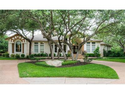 Round Rock Single Family Home For Sale: 2318 Woodway