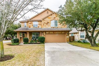 Cedar Park Single Family Home Pending - Taking Backups: 2700 Checker Dr