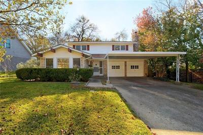 Hays County, Travis County, Williamson County Single Family Home Pending - Taking Backups: 1703 Deerfield Dr