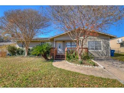Burnet County Single Family Home For Sale: 306 Ave D