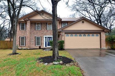 Single Family Home For Sale: 12502 Cortaro Cv