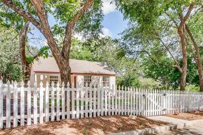 Austin Single Family Home For Sale: 1908 Travis Heights Blvd #A