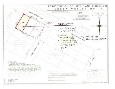 Austin Residential Lots & Land Pending - Taking Backups: 5203 Chico