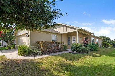 Georgetown Single Family Home For Sale: 717 Salt Creek Ln