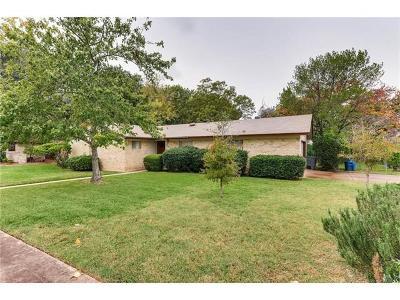Austin Single Family Home Pending - Taking Backups: 8508 Flagstone Dr