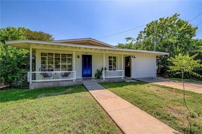 Travis County Single Family Home Pending - Taking Backups: 607 Wilmes Dr