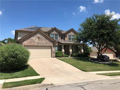 Round Rock Single Family Home For Sale: 1425 Short Horn Cv