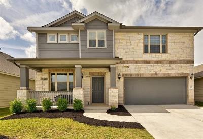 Hutto Single Family Home For Sale: 113 Palestine Cv