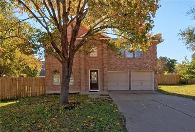 Travis County Single Family Home Pending - Taking Backups: 8103 Red Rock Cv