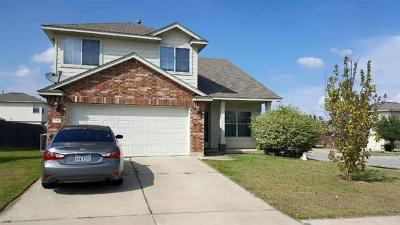 Pflugerville Single Family Home For Sale: 1340 Coronation Way