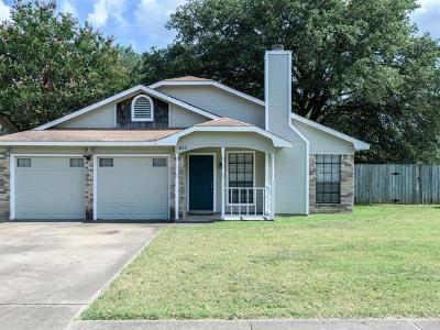 Cedar Park Single Family Home For Sale: 812 Wild Rose Trl