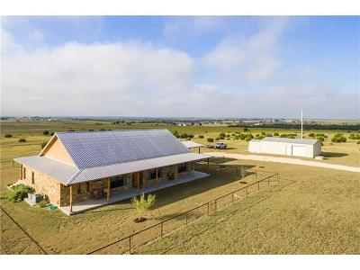 Burnet County Single Family Home For Sale: 3380 County Road 211