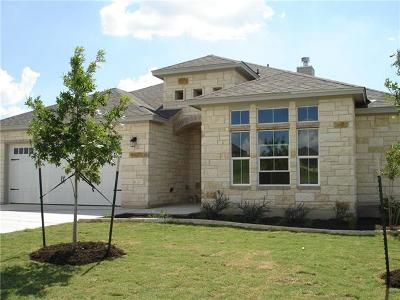 Williamson County Single Family Home Active Contingent: 321 Western Sky Trl