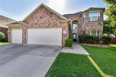 Pflugerville Single Family Home For Sale: 20745 Silverbell Ln