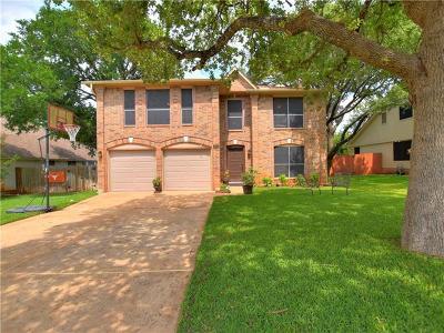 Cedar Park Single Family Home For Sale: 2806 Tierra Blanco Trl