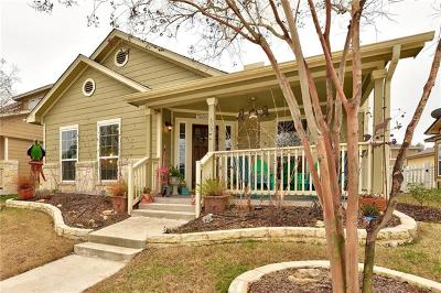 Round Rock Single Family Home For Sale: 609 Heritage Springs Trl