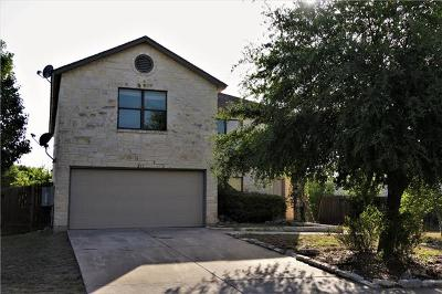 Leander Single Family Home For Sale: 211 Cottontail Dr