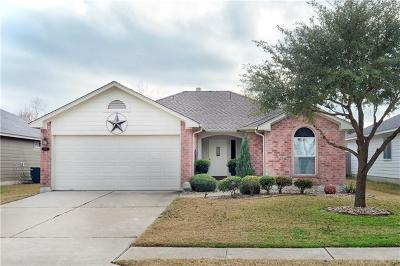 Hutto Single Family Home Pending - Taking Backups: 216 Watergate Way
