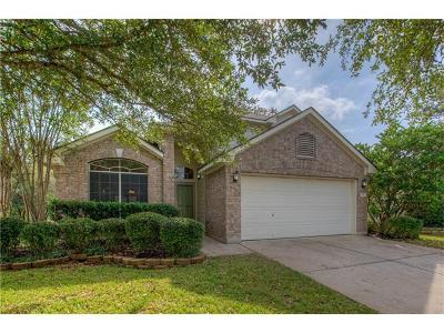 Cedar Park TX Single Family Home For Sale: $264,900